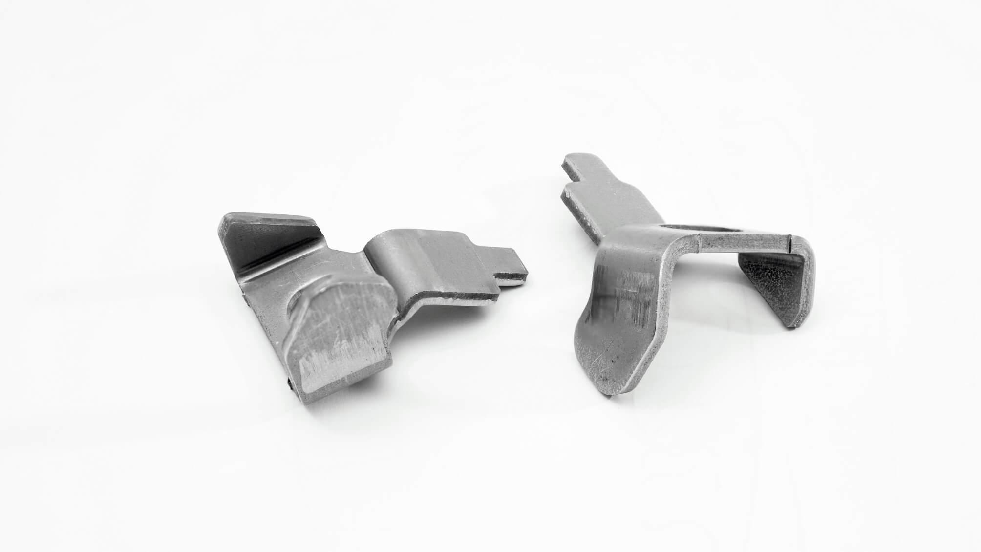 Bauteil aus Warmgewalzten mikrolegierten Stahl in den Güten S315MC, S355MC, S420MC, S460MC, S500MC, S600MC, S650MC, S700MC, S900MC und S960MC.